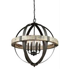 amusing black orb chandelier castello wood by artcraft lighting connection with crystal metal iron and gold
