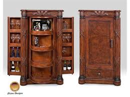 Primo Design Living Room Euro Bar Cabinet  Connollys - Home bar cabinets design