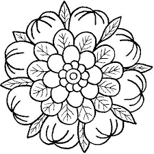 Coloring Pages Mandala Coloring Pages Page Elephant Easy Mandala