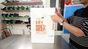 picture of the dry aged beef machine