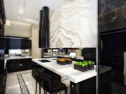 black kitchen cabinets with white marble countertops. Cabinets White Marble Countertop Kitchen Decor Ideas. Fashionable Black Design Ideas \u2013 49 Amazing Designs : Luxury With Countertops
