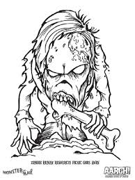 Small Picture Scary Monster Coloring Pages coloring Pages Pinterest Scary