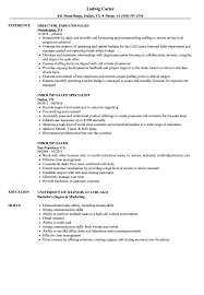 Inbound Sales Resume Samples Velvet Jobs