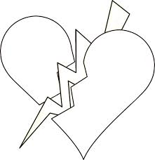 Small Picture Broken Hearts Coloring Pages GetColoringPagescom
