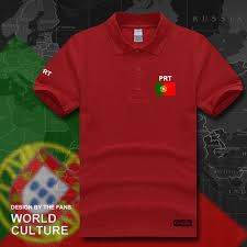 portugal portuguese polo shirts men short sleeve white brands printed for country 2018 cotton nation team flag portuguesa pt