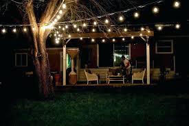 solar powered string lights patio patio string