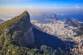 Immagini Stock - Vista Aerea Del Cristo Redentore E La Città Di Rio De  Janeiro, Brasile Image 47981637.