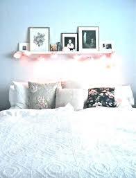 shelf above bed floating shelf above bed navy blue shelving cool shelf above bed bedroom shelf