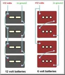 rv batteries parallel wiring diagram images parallel battery bank battery bank wiring diagrams 6 volt 12 volt series