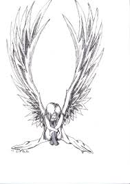 book and quill drawing angels and demons drawings google search demons