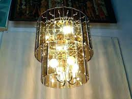 glass panel chandelier beveled amber regency two tier brass and smoke lighting replacement b beveled glass chandelier panels s parts