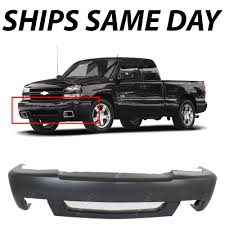 All Chevy chevy 1500 ss : New Primered - Front Bumper Cover For 2003-2007 Chevy Silverado ...