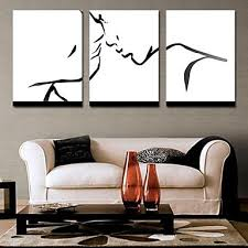 modern canvas art. Contemporary Art In Modern Canvas Painting Wall Hanging Big Abstract Paintings 3 1 Set Face Kiss LOVE Love Pieces Ordered About E