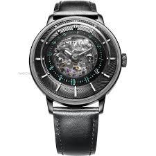 "skeleton watches men s ladies watches watch shop comâ""¢ mens fiyta 3d time skeleton automatic watch wga868003 bbb"