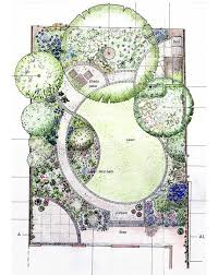 designing garden layout i m loving the curves in this layout