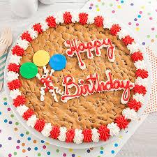 mrs fields happy birthday big cookie cake