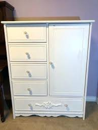 Splendid Long Low White Dresser Large Modern Extra With Mirror Wide ...