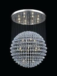crystal sphere chandelier crystal chandelier modern crystal ball chandelier for