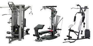 york 2002 multi gym. three multi gym machines york 2002