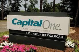 Logo On The Roadside Capital One Office Photo Glassdoor Co Uk