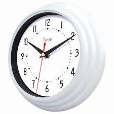 black and white wall clock equityla crosse 8 white og wall clock