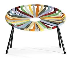 chair design. flower like contemporary chair design