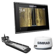 Simrad Go7 Xsr W Active Imaging 3 In 1 Transom Mount Transducer 3g Radar Us Canada Nav Chart
