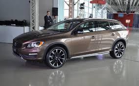 volvo v60 wagon black. 2016 volvo v60 cross country t5 platinum wagon smart car black v