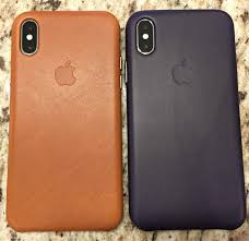 his hers iphone x can t wait to see the saddle brown age and she loves the dark aubergine
