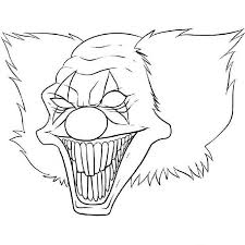 Pennywise The Clown Coloring Pages For Free Jokingartcom