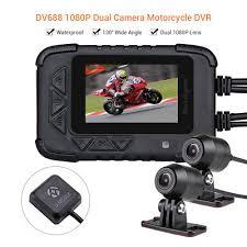 "<b>Blueskysea DV688 Motorcycle</b> HD 1080P 2.4"" <b>Camera</b> DVR Audio ..."