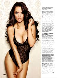 Jessica Jane Clement looking hot and sexy for Nuts Magazine Your.