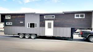 Small Picture Tiny House on Wheels 39 Ft Gooseneck Trailer Small Home Design