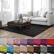 Casa Pura Shaggy Teppich Barcelona Weicher Hochflor Teppich Für Wohnzimmer Schlafzimmer Kinderzimmer Gut Siegel Blauer Engel Verschiedene
