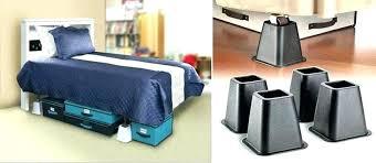 diy bed risers furniture 1 for dorm concrete