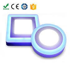 Double Color Led Panel Light Two Color Changing Led Panel Light 6w 9w 18w 24w Ra 80 Smd Double Color Led Light Panel Buy Two Color Changing Led Panel Light Double Color Led