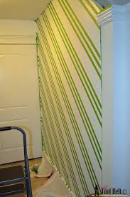painting a geometric wall on hertoolbelt com taping it modern