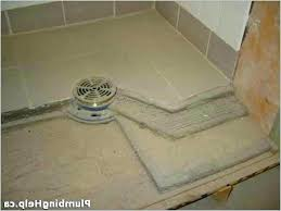 how to put tile in shower floor how to build a tile shower floor pan inspirational