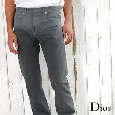 Dior Homme Size Chart Dior Homme Dior Homme 003d000tx040 Gradient Herringbone Stripe Skinny Denim Jeans 800 Grey