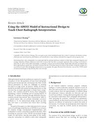 Instructional Design Jobs Edmonton Pdf Using The Addie Model Of Instructional Design To Teach