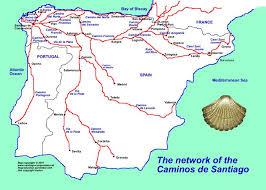 86 best maps of the way santiago de compostela images on Camino De Santiago Map map of the caminos to santiago de compostela camino de santiago mapa