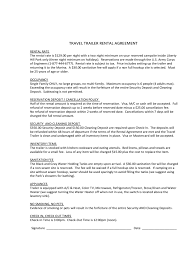 Small Picture Trailer Rental Agreement 6 Free Templates in PDF Word Excel