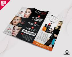 Download Beauty Salon Trifold Brochure Psd Psddaddy Com