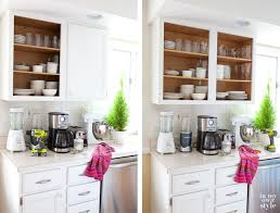 Painting Inside Kitchen Cabinets Stunning Kitchen Tweak How To Paint Laminate Cabinets In My Own Style