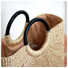 wooden straw market tote bag picnic basket handle beach wooden straw antique kitchen chairs supplieranufacturers at strawberry baskets