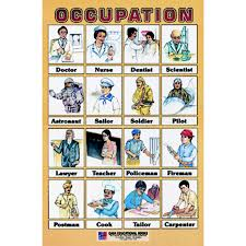 Occupation Chart Pictures Chart No 27 Occupation