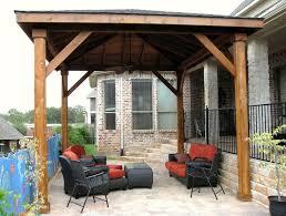 diy free standing patio cover plans home design ideas