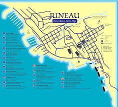 downtown juneau map  downtown juneau ak usa • mappery