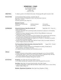 Resume Samples Volunteer Work