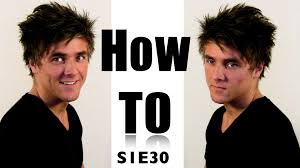 Bed Hair Style messy bed hair for men hair video tutorial on how to style 3791 by stevesalt.us